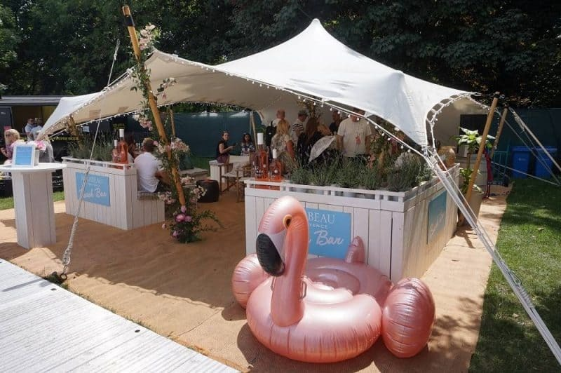 Beach bar at Taste of London