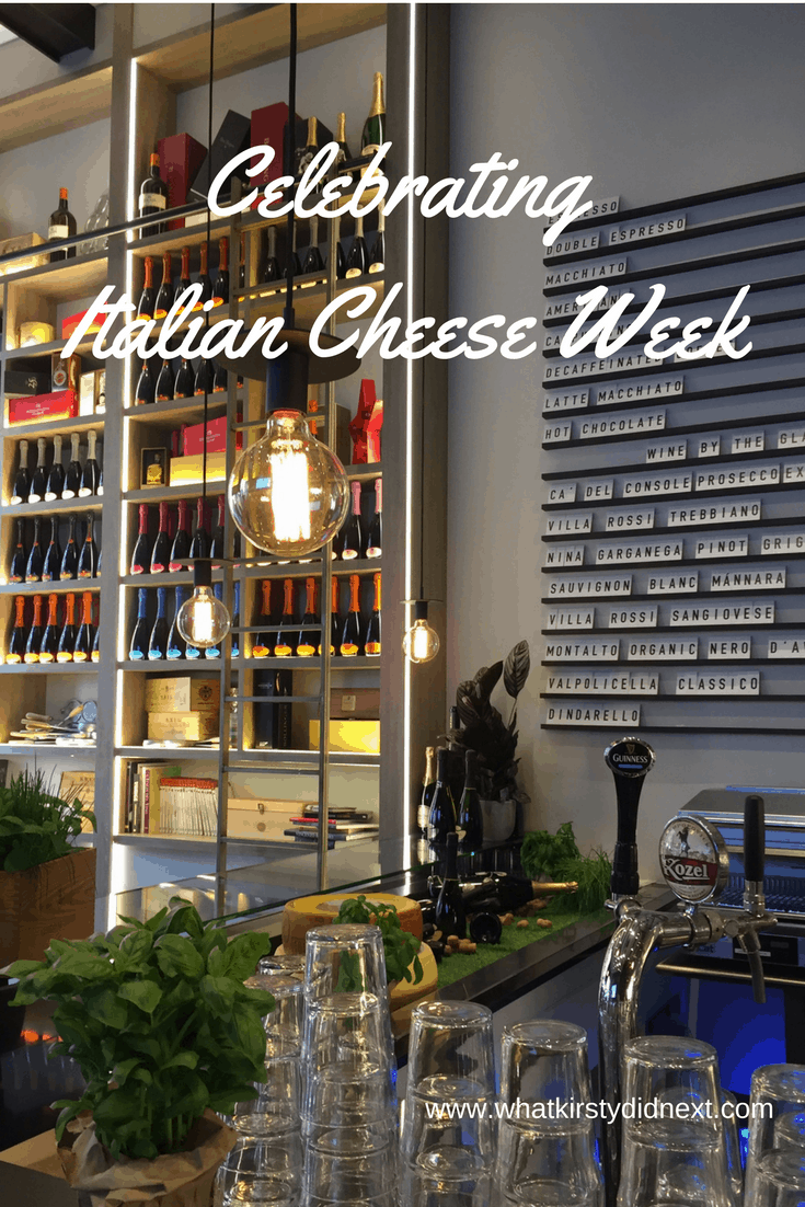 Celebrating Italian Cheese Week