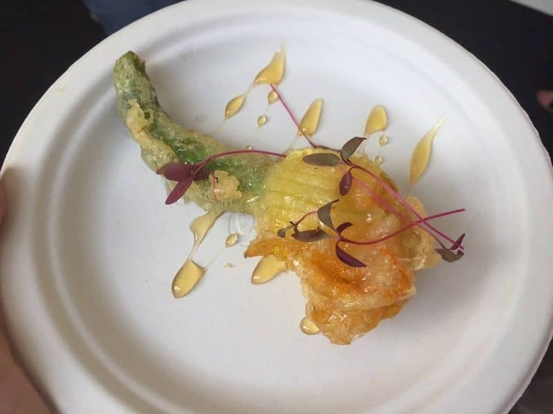 Cook for Syria courgette flower