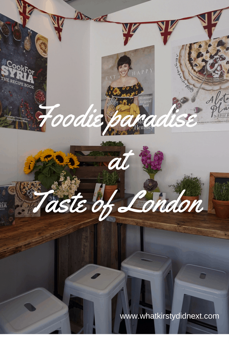 Foodie paradise at Taste of London