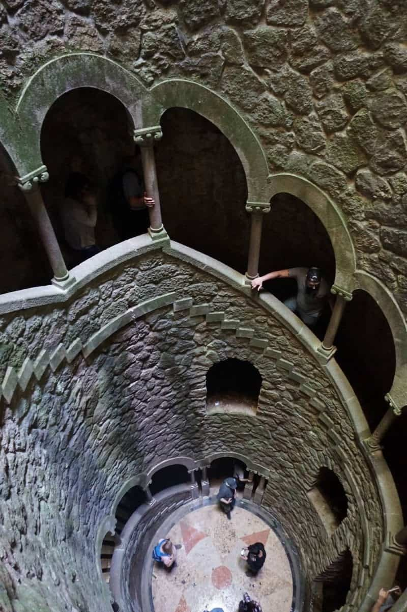 Initiation well at Quinta da Regaleira