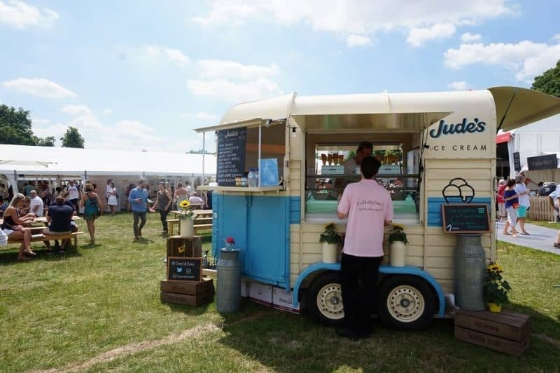 Jude's ice-cream van