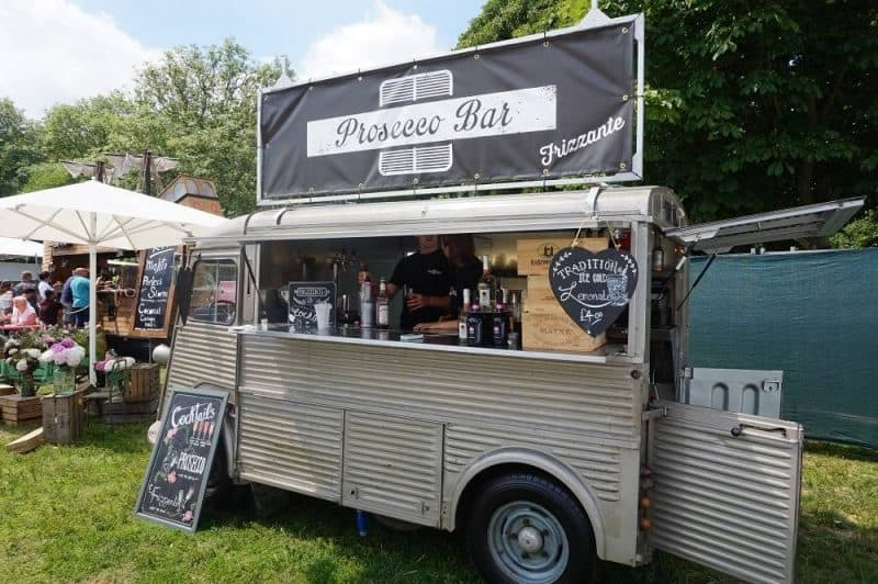 Prosecco bar at Taste of London