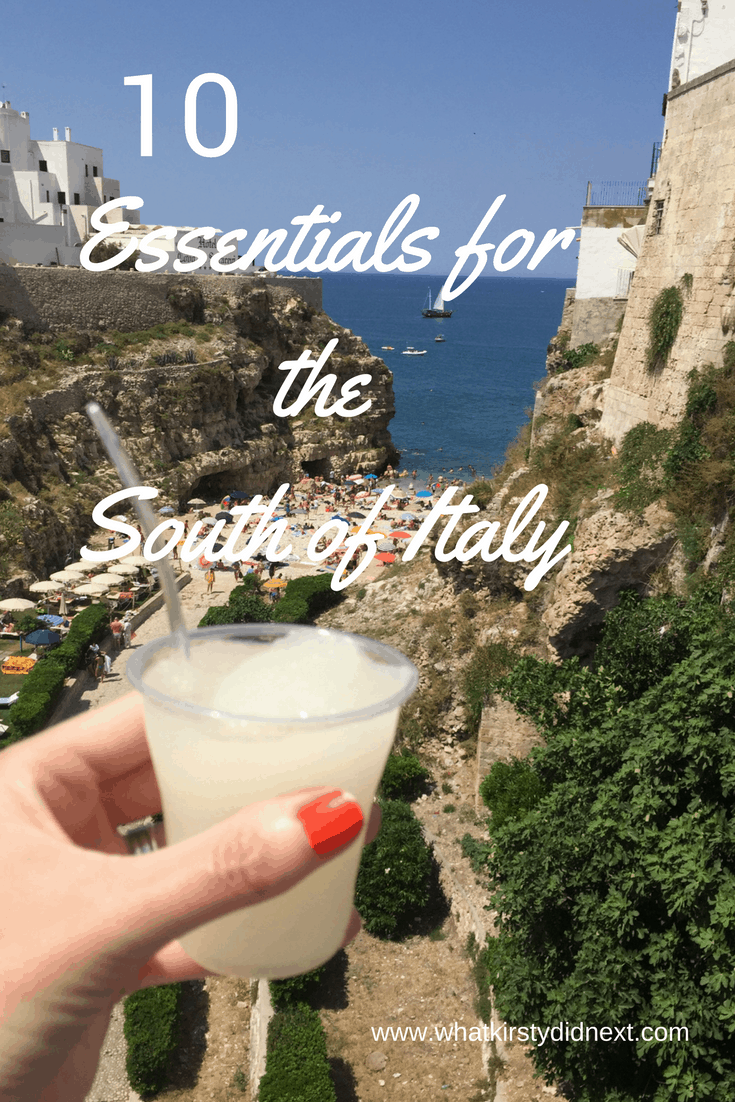 Ten essentials for the South of Italy