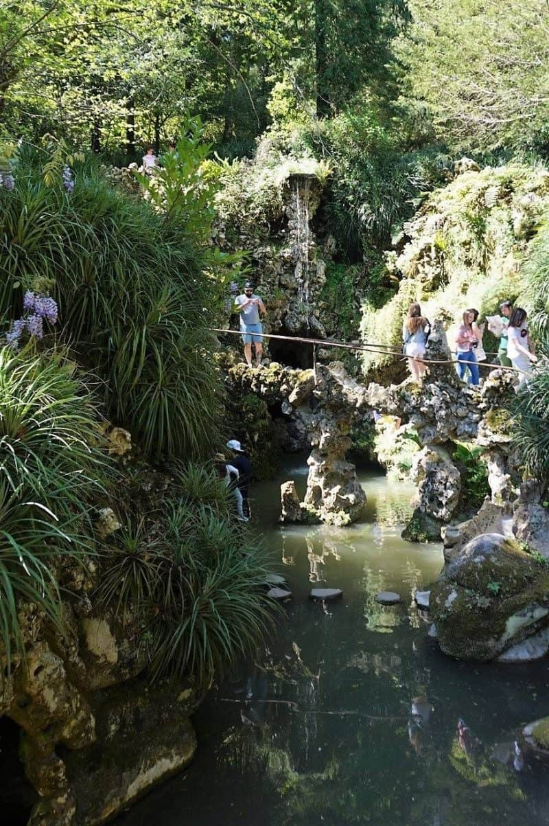 Waterfall lake