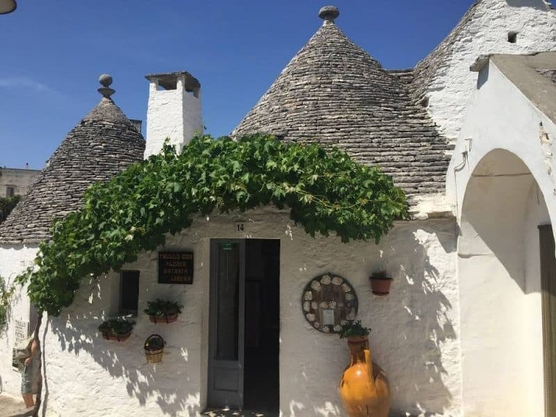A trullo in Alberobello