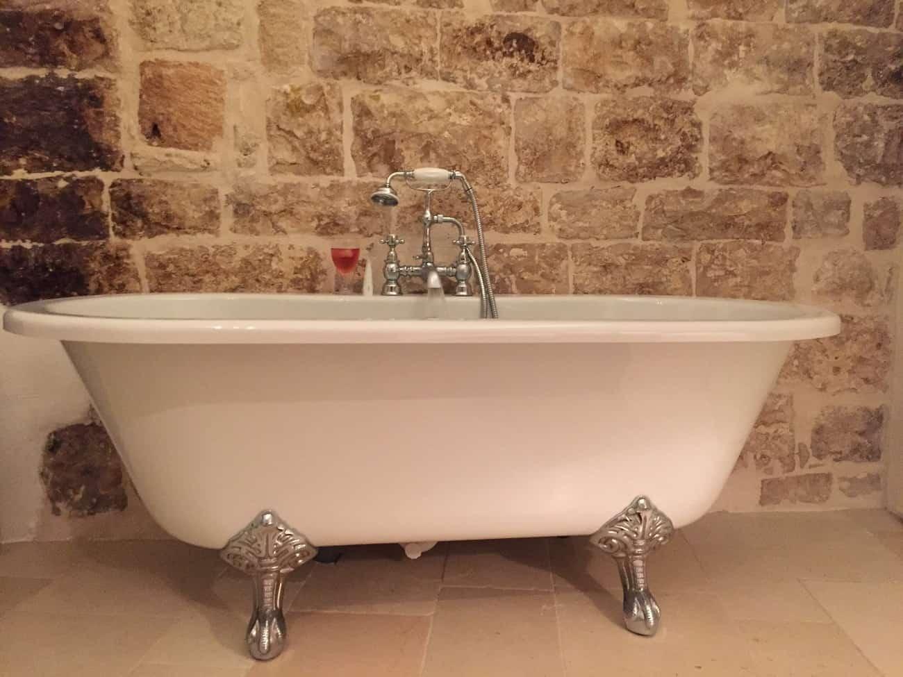 Bathtub in our AirBnB
