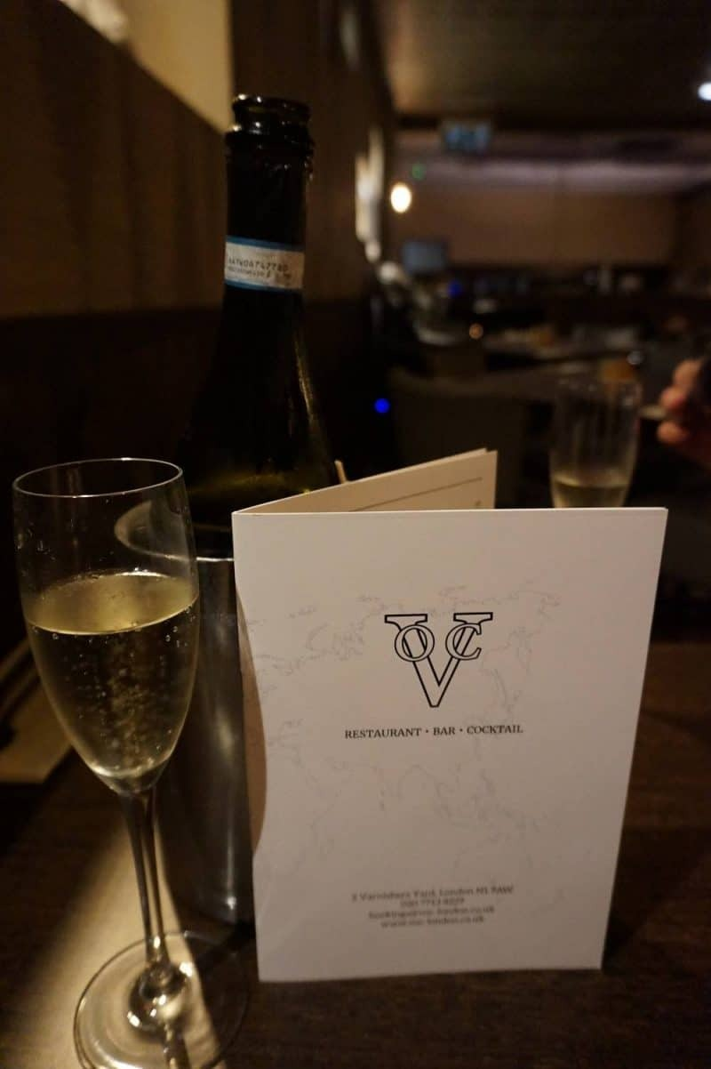 Prosecco at VOC