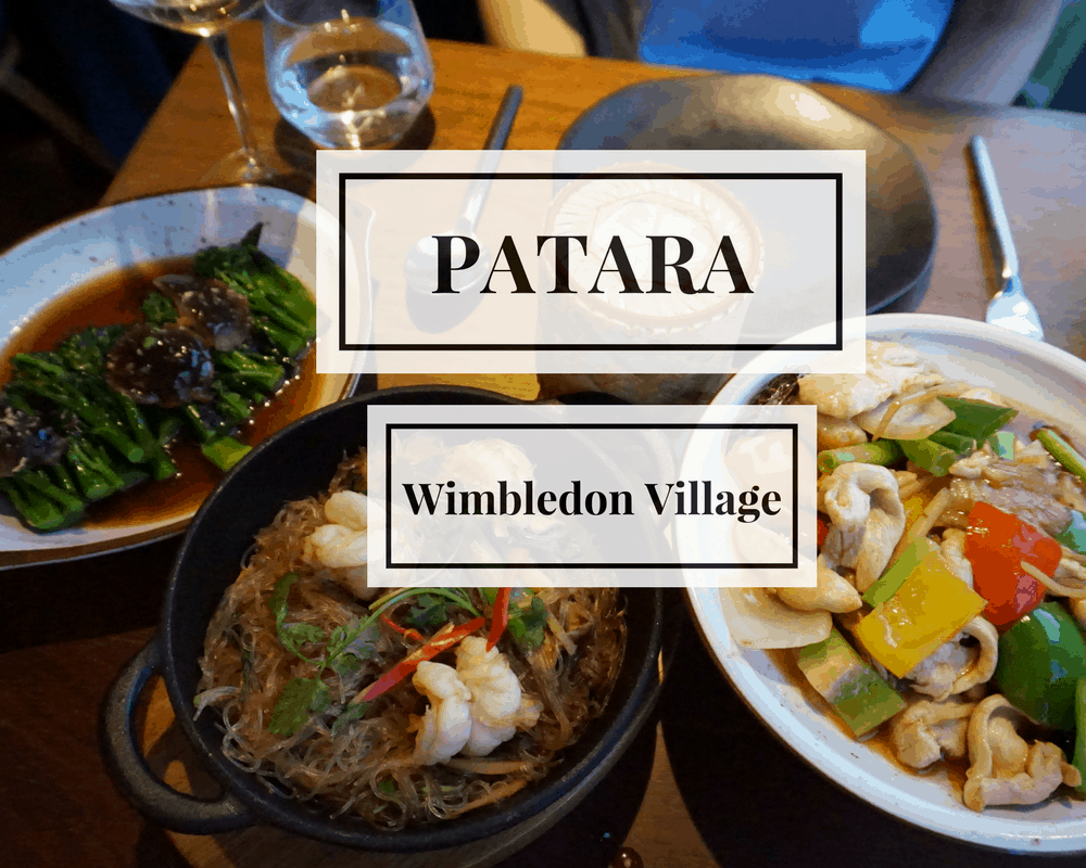 Delicious Thai at Patara Wimbledon