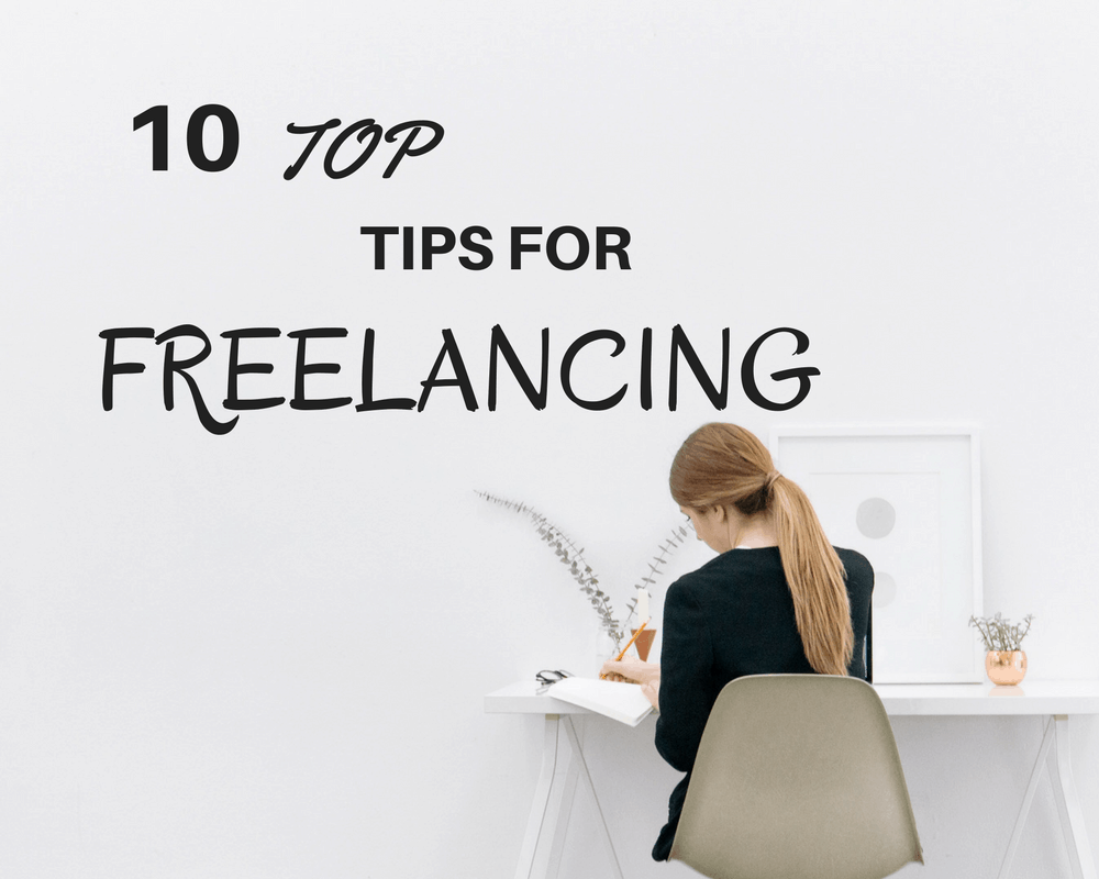 Ten tips for freelancing