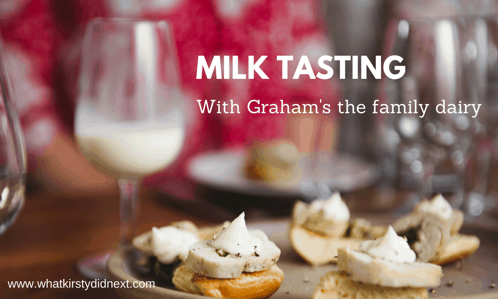 Milk tasting with the Milk Sommelier