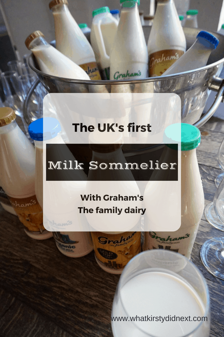 Milk tasting with the UK's first Milk Sommelier