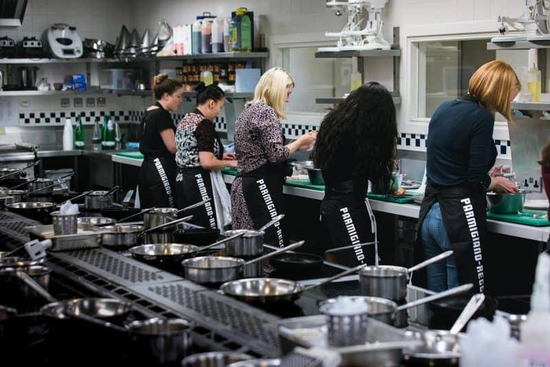Cooking at Le Cordon Bleu