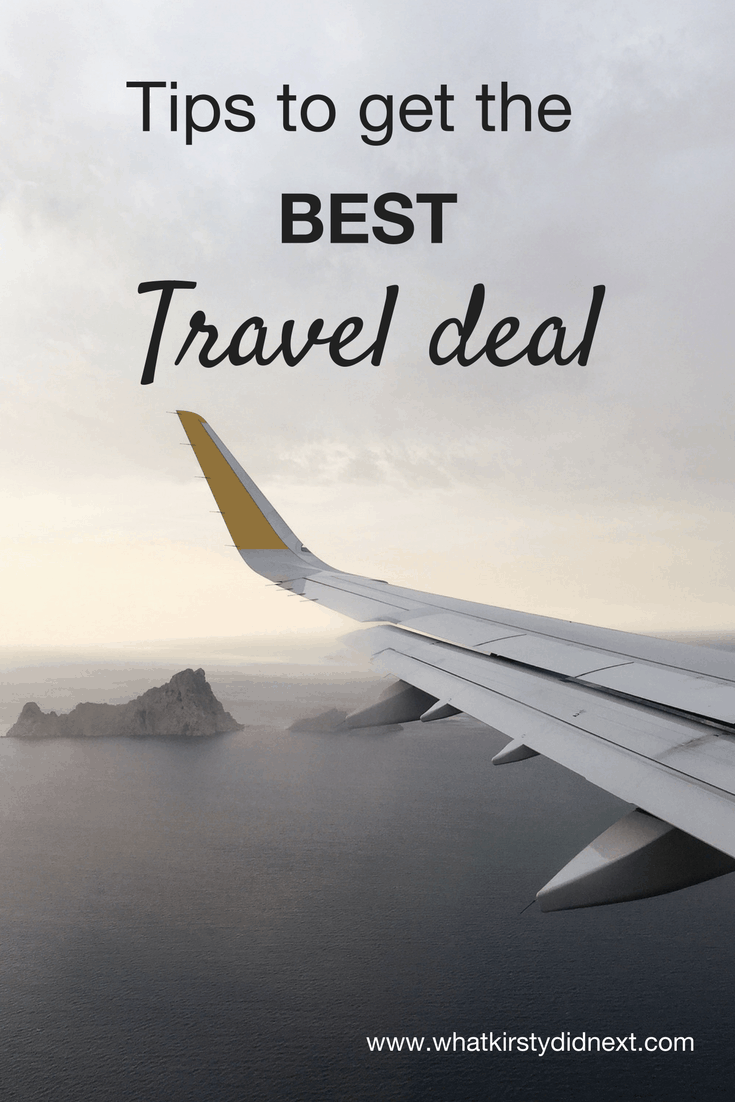 How to get the best travel deal, whatever your budget