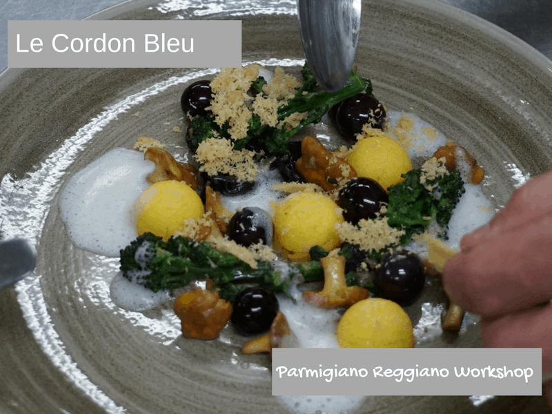 Parmigiano Reggiano workshop at Le Cordon Bleu London