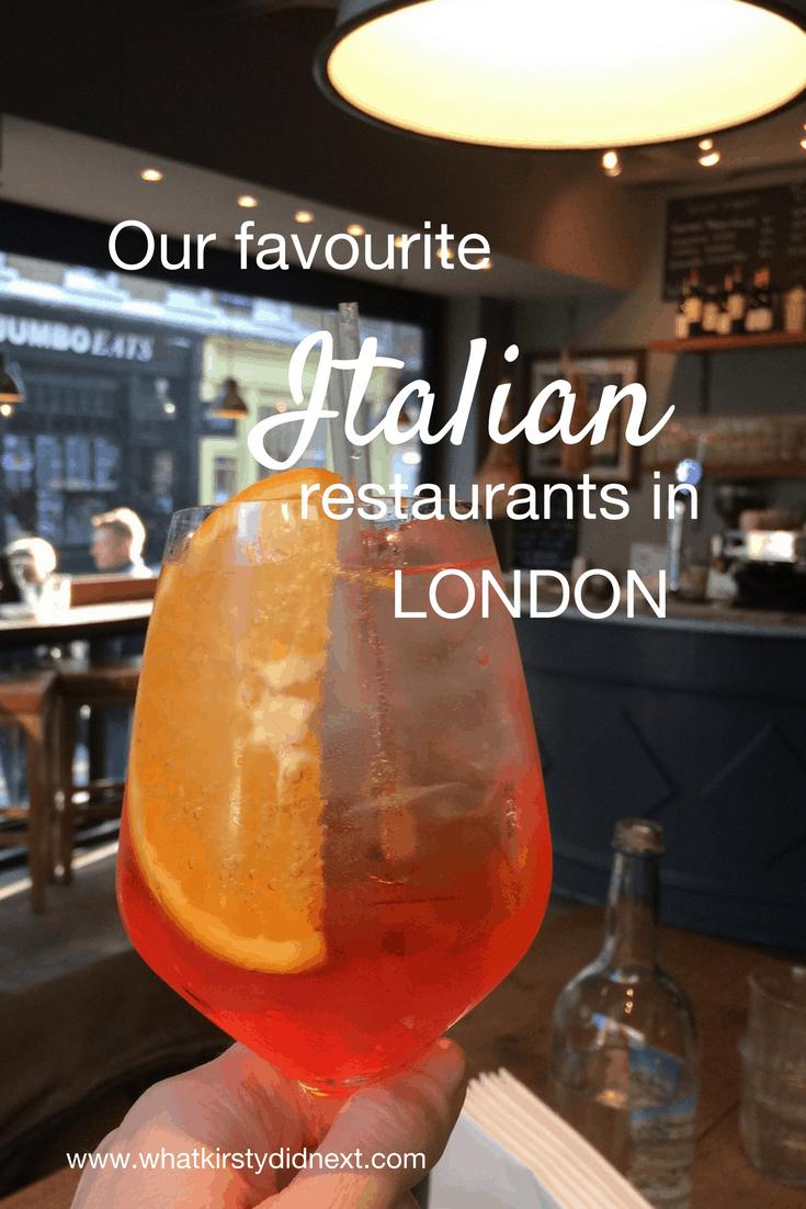 The best Italian restaurants in London