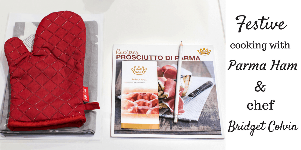 An alternative Christmas dinner with Parma Ham