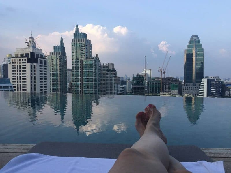 Park Hyatt Bangkok roof pool