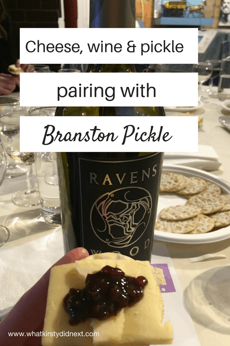 Cheese, wine & pickle pairing with Branston Pickle