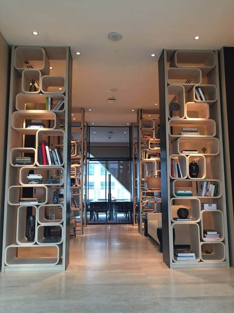 The library room in Park Hyatt Bangkok