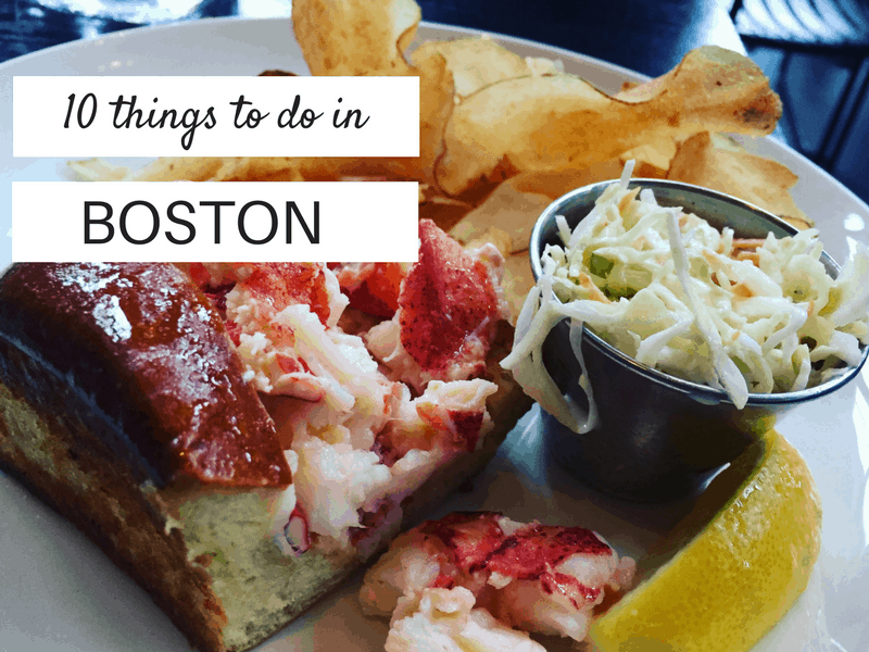 Ten things to do in Boston