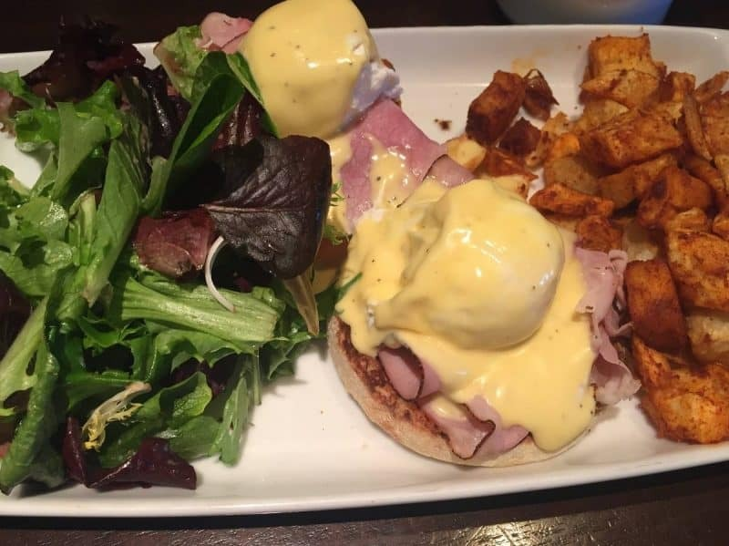 Eggs benedict from Stephanie's on Newbury in Boston