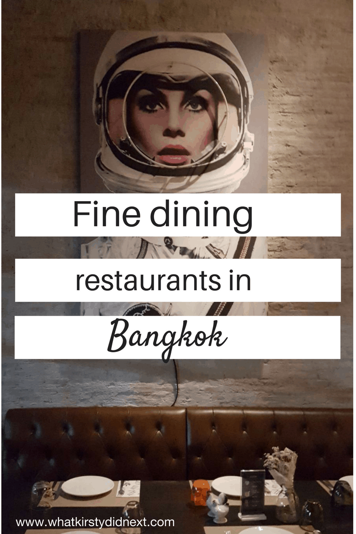 Fine dining restaurants in Bangkok, Thailand