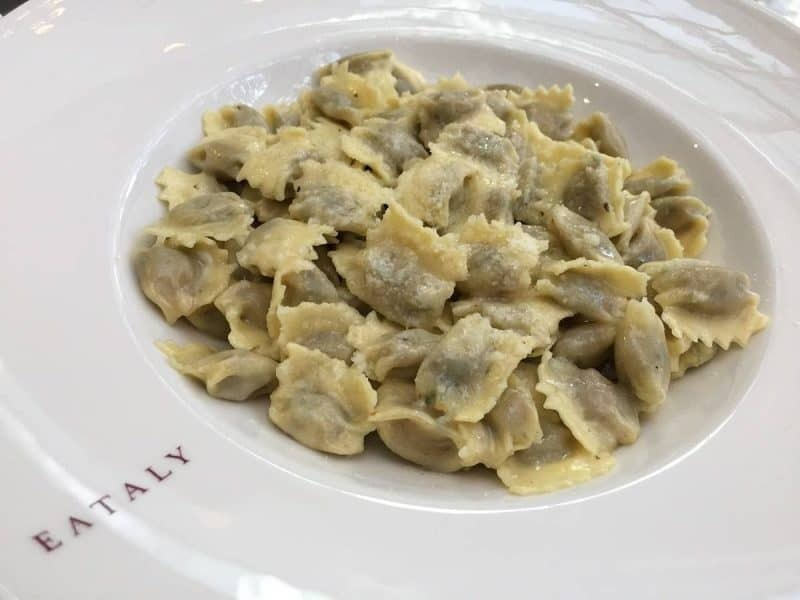 Pasta from Eataly in Boston