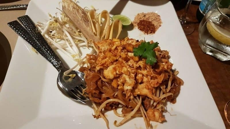 Phad Thai at Mazzaro in Bangkok