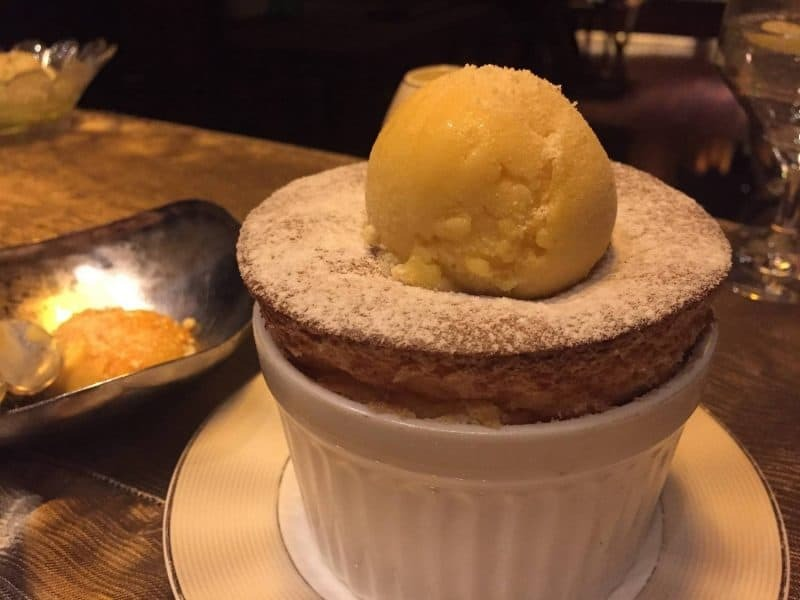 Souffle by Sra Bua by Kiin Kiin in Bangkok