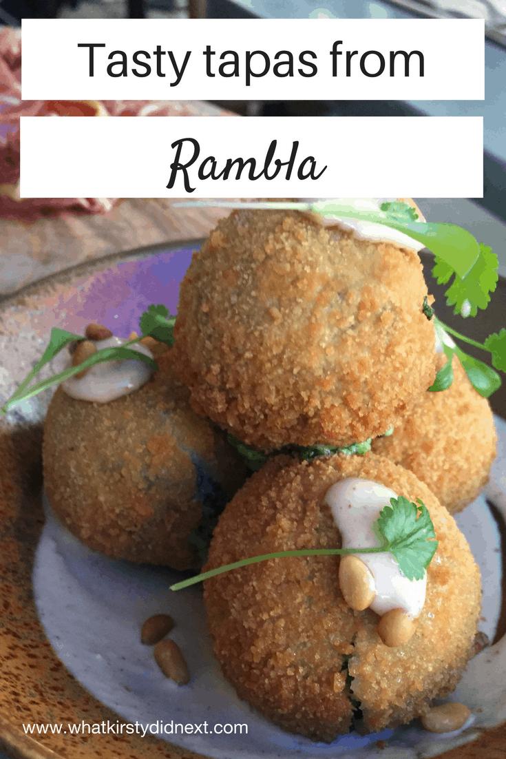 Tasty tapas from Rambla in London's Soho