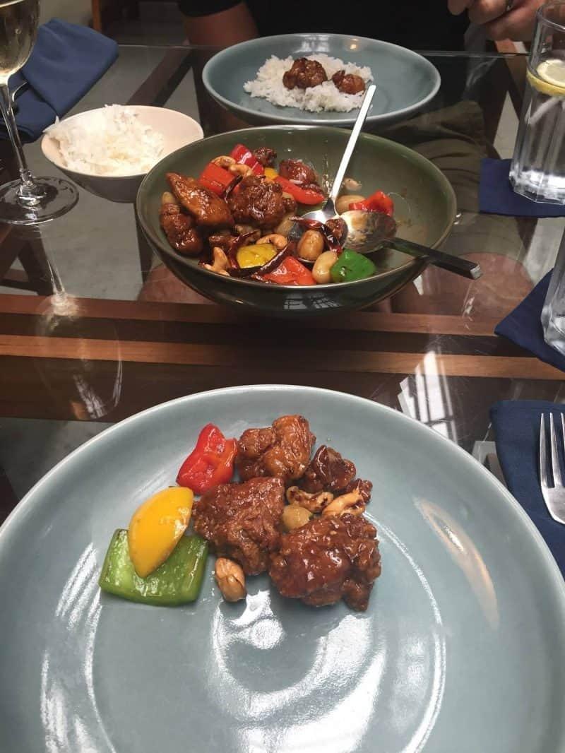 Thai food at The Never Ending Summer restaurant in Bangkok