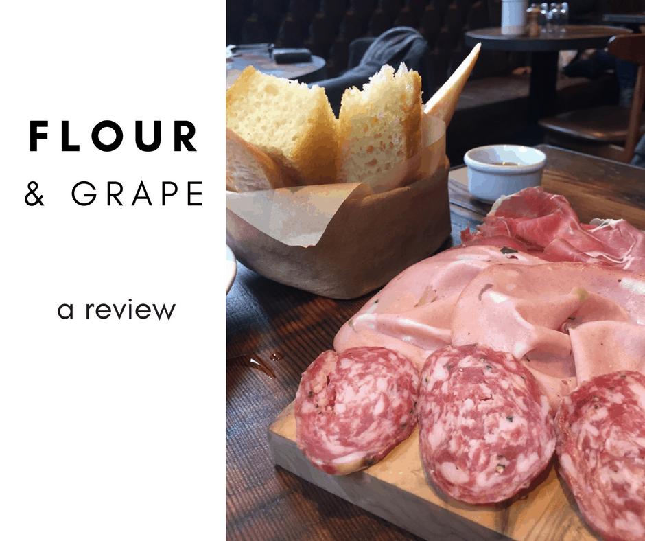 A review of Flour & Grape in Bermondsey London