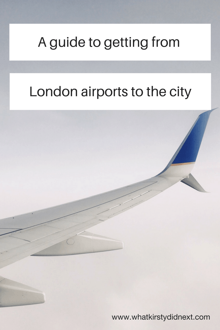 Guide to getting from London airports to the city