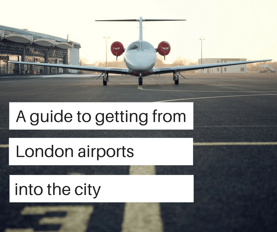 Travel guide from London airports to the city