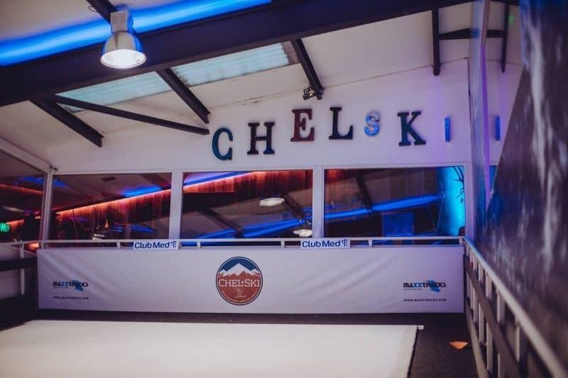 Chelski indoor skiing