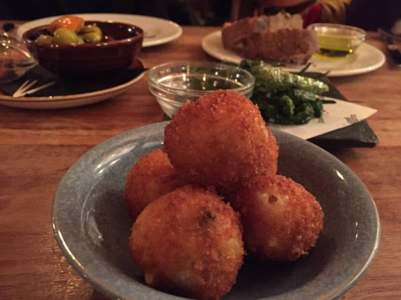 Tapas from Pizarro in Bermondsey