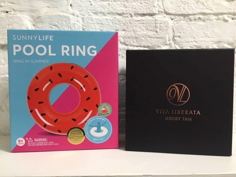Goodies from Sunnylife and Vita Liberata