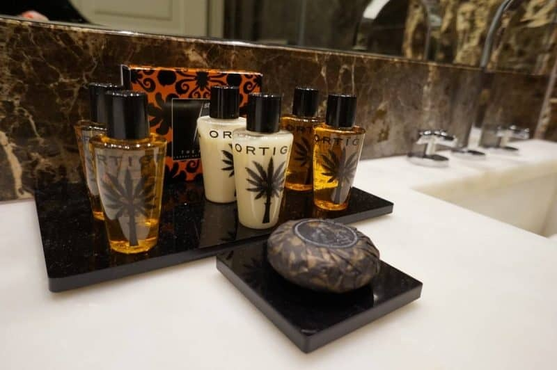 Luxury Ortiga bathroom products