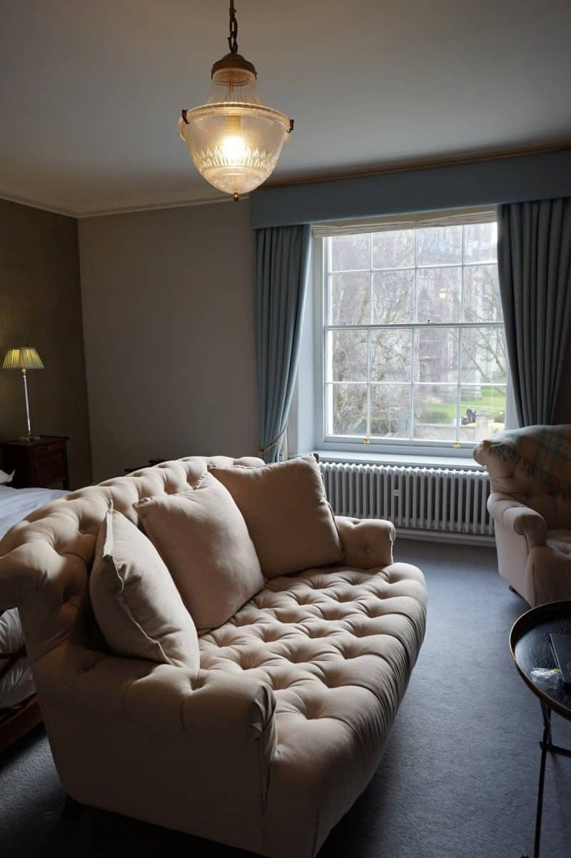Somerset room at Grays Court Hotel