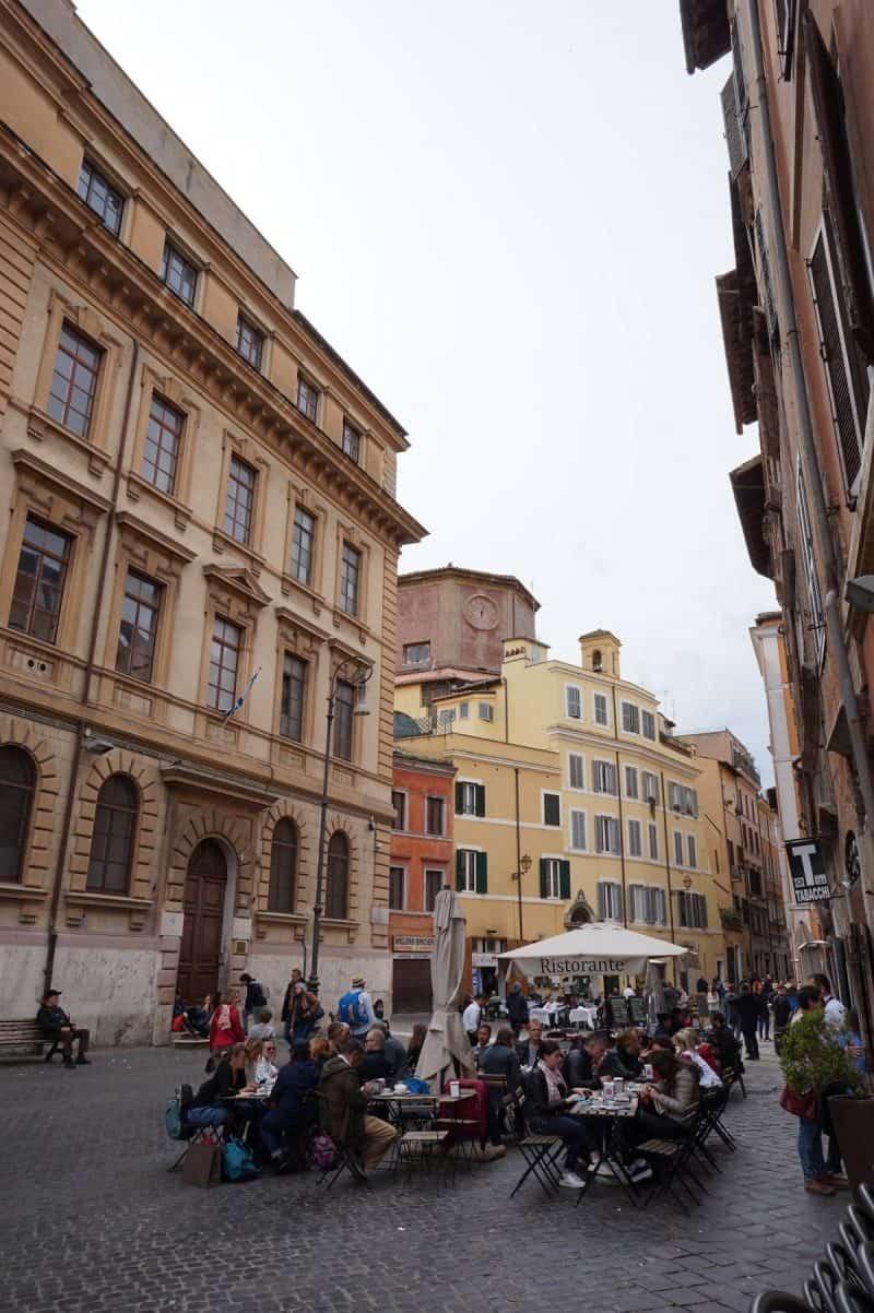 The Jewish Ghetto in Rome