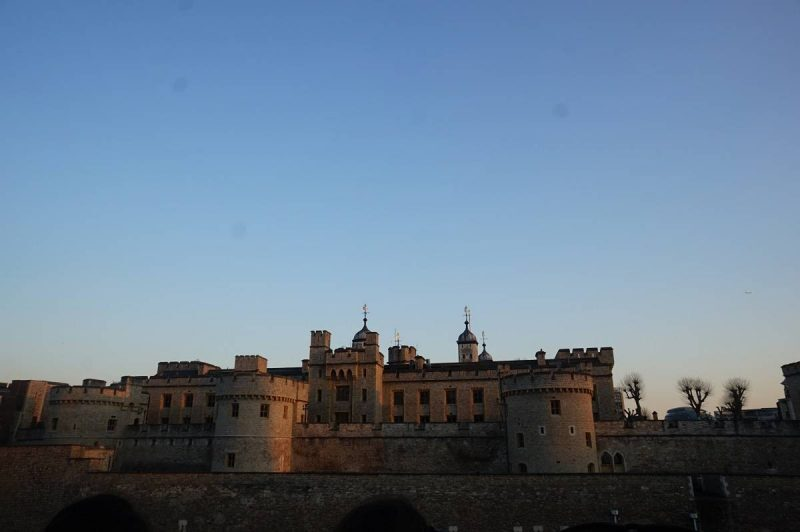Tower of London at sunset