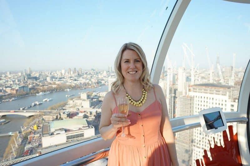 VIP London Eye pod