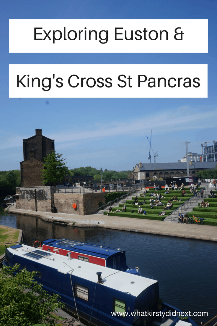 Exploring Euston and King's Cross St Pancras