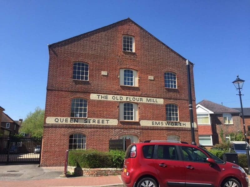 Old flour mill in Emsworth