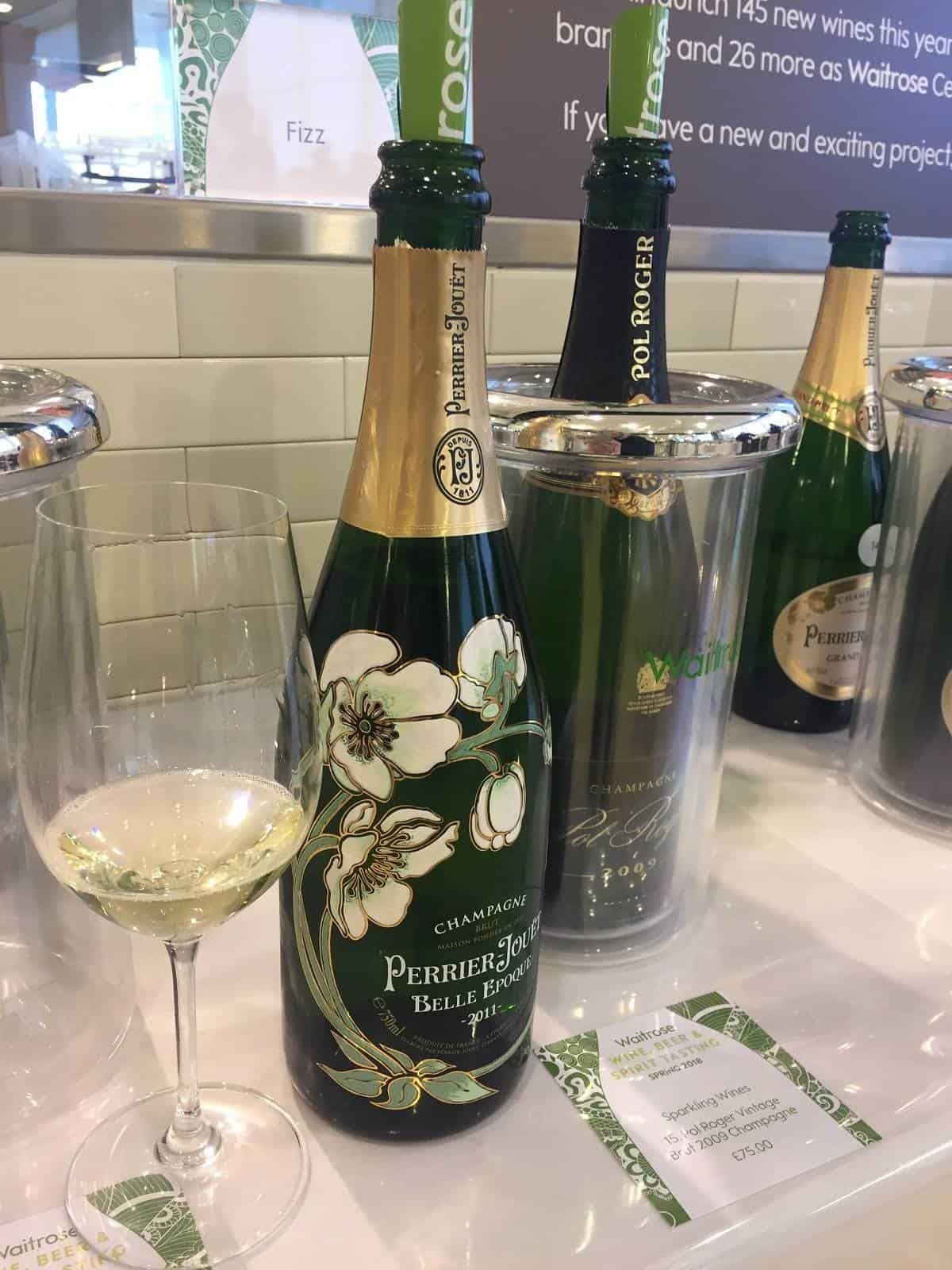 Wine, spirit and beer tasting with Waitrose