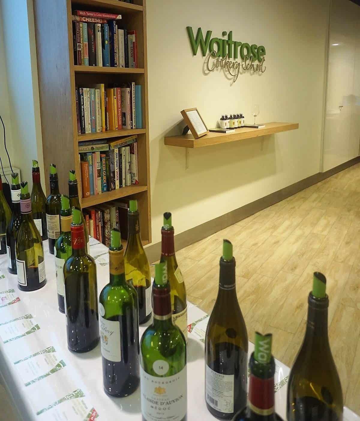 Waitrose wine tasting event