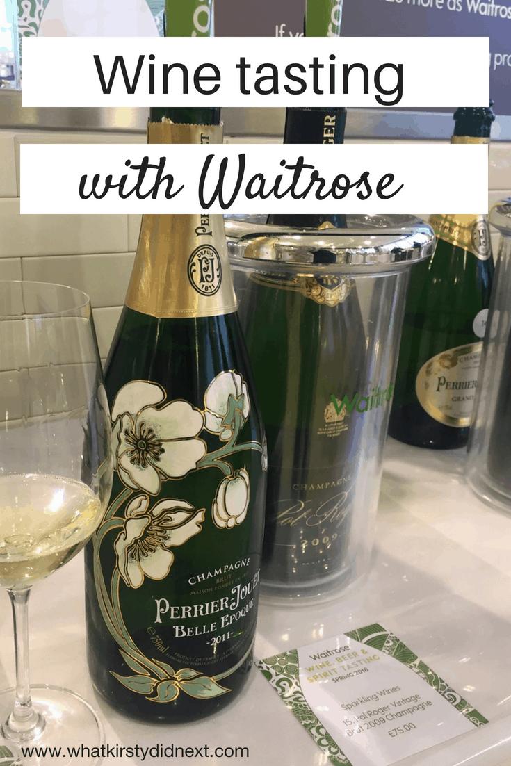 Wine, spirit & beer tasting with Waitrose