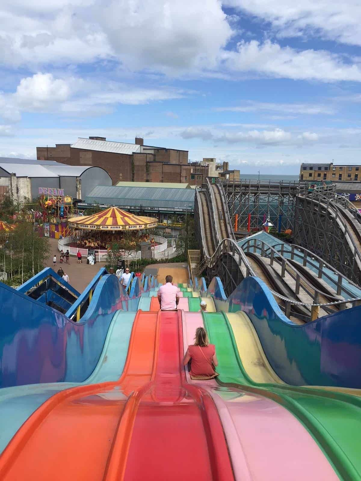 Born Slippy ride at Dreamland Margate