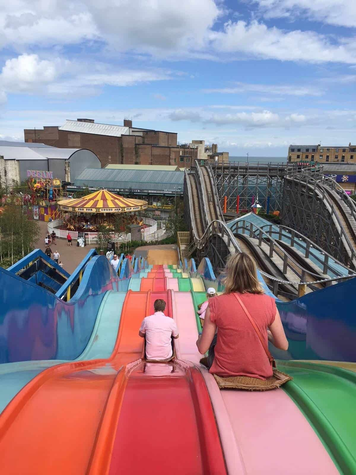 Born Slippy ride at Dreamland